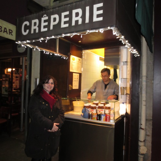 The best Crepe in Paris! (Montmartre)